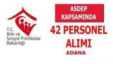ADANA 2017 ASDEP Görevlisi Özel Hizmet Alımı Duyurusu