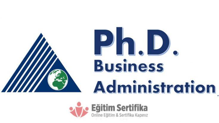 İşletme (Ph.D) Doktora