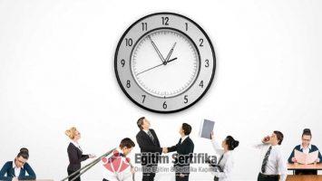 Kurumsal Zaman Yönetimi Eğitimi