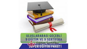 Süper Paket – 9 Eğitim
