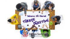 Yabancı Dil Olarak Türkçe Öğretimi Sertifika Programı