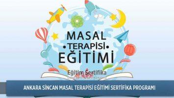 Masal Terapisi Eğitimi Sertifika Programı Ankara Sincan