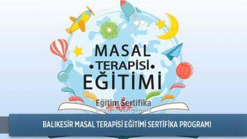 Masal Terapisi Eğitimi Sertifika Programı Balıkesir