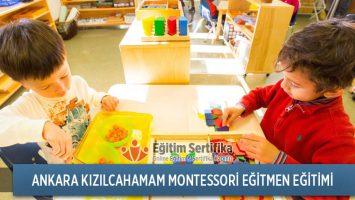 Montessori Eğitmen Eğitimi Ankara Kızılcahamam